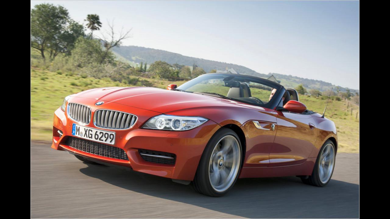 Platz 9: BMW Z4, 163 Neuzulassungen
