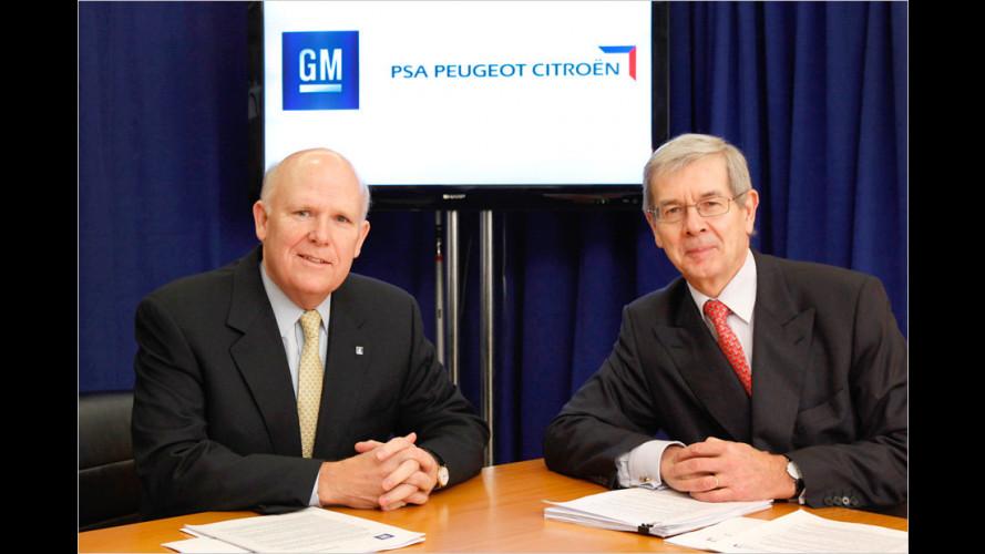 GM und PSA vereinbaren Allianz