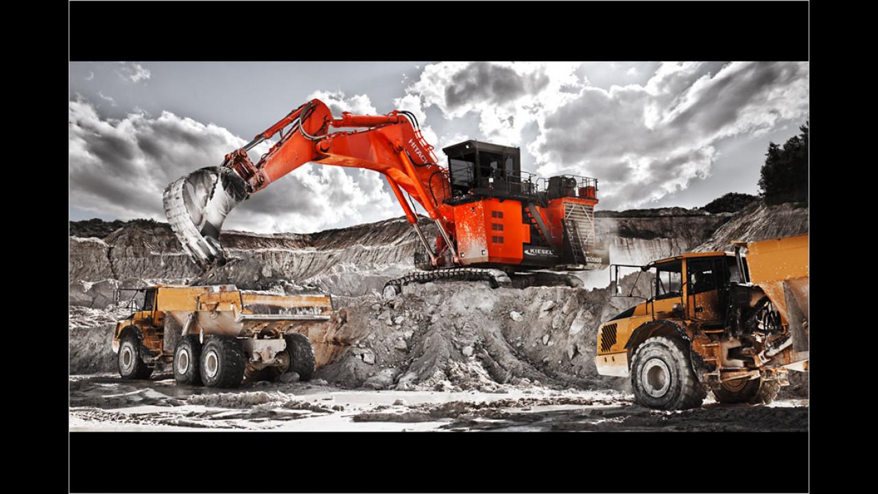 Hitachi EX1900-6 Miningbagger
