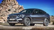 BMW X4 2019 render