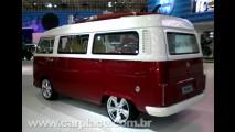 Salão do Automóvel 2008 - Volkswagen personaliza Kombi Edição 50 Anos