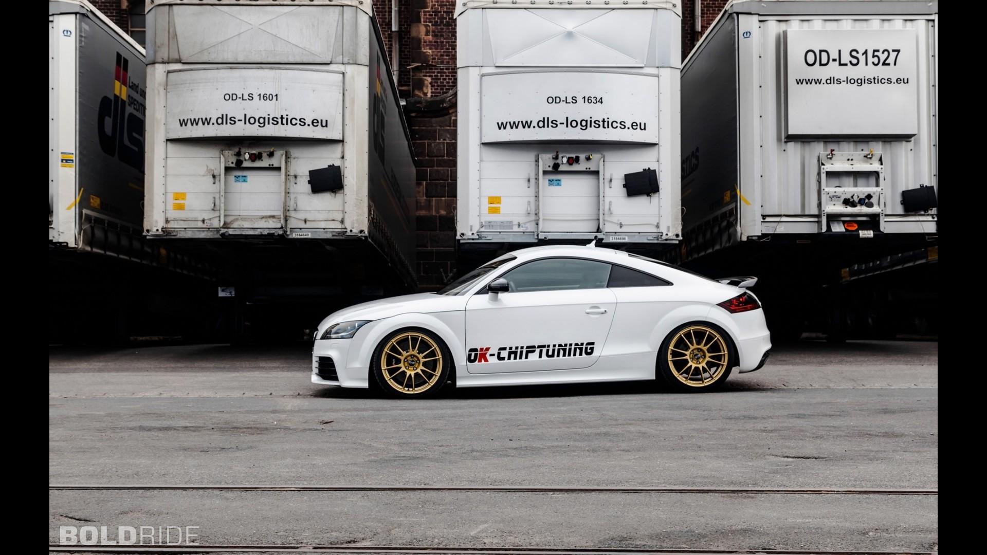 Купе Audi TT RS Plus от OK-Chiptuning