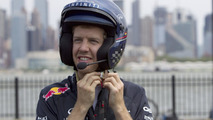 Sebastian Vettel  drives New Jersey Circuit 12.06.2012