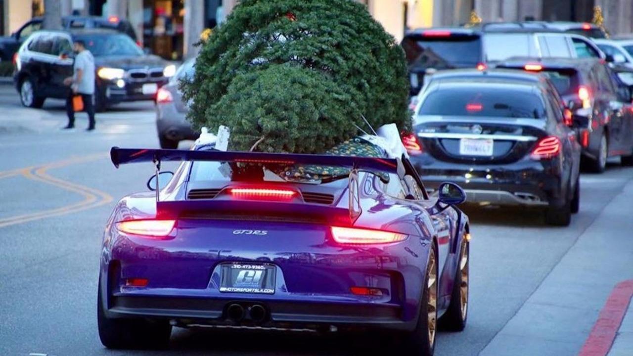 Porsche sapin Noël