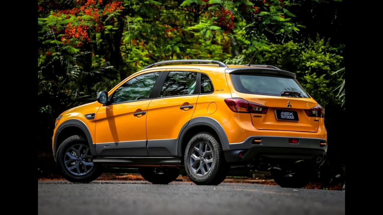 Mitsubishi lança ASX Outdoor 4x2 com câmbio CVT por R$ 107.990