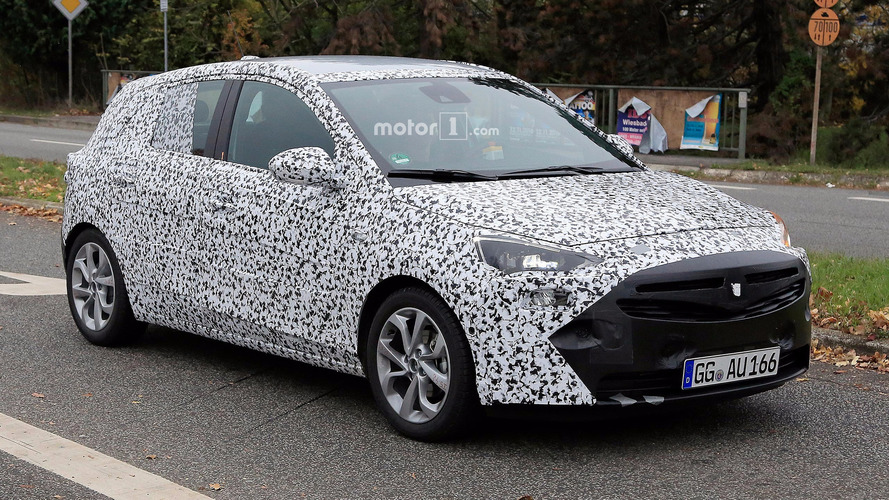 Next-gen Opel Corsa spied showing off its new nose