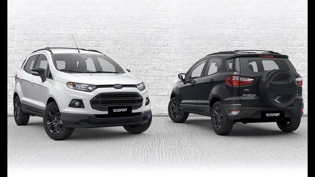 """Ford EcoSport ganha série especial """"Shadow"""" do outro lado do mundo"""