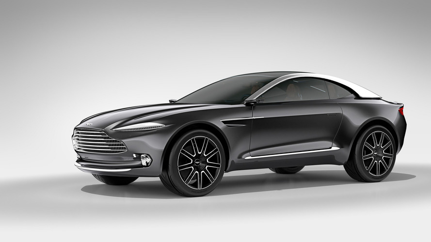Aston Martin DBX To Look Significantly Different Than The Vantage