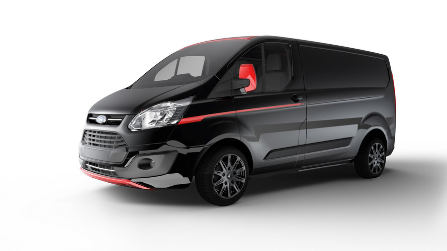 Ford's vans in Europe just got a lot more fun