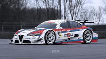 Alfa Romeo Giulia DTM tasarım çalışması