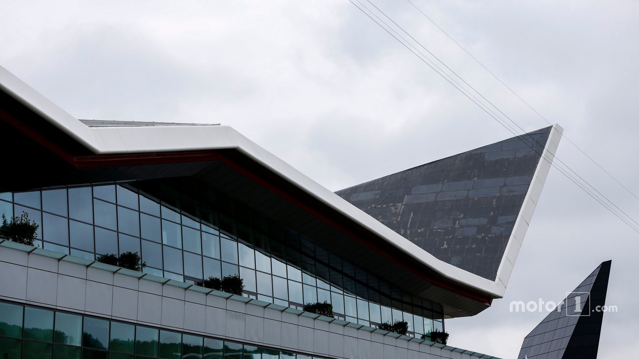 A view of the Silverstone wing
