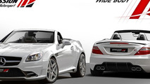 Expression Motorsport introduces a wide body kit for the Mercedes SLK [video]
