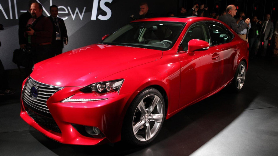 2013 Lexus IS pricing announced (UK)