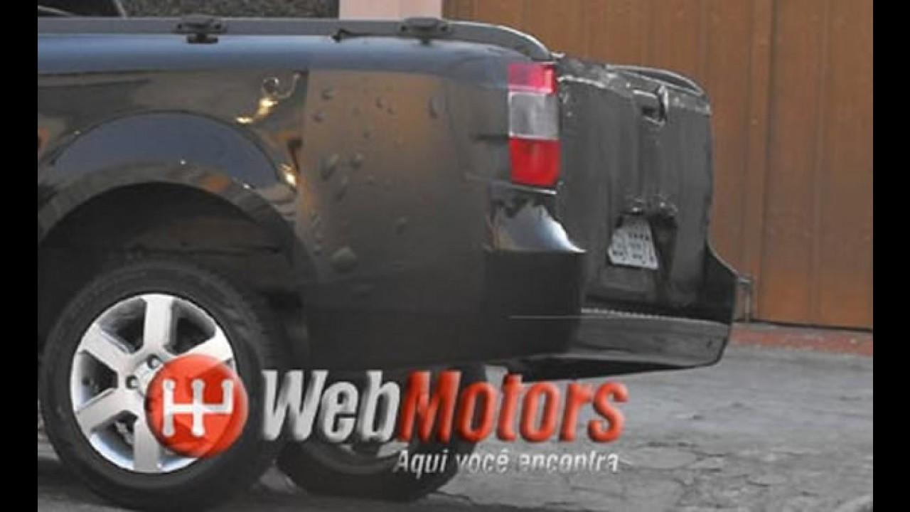 Nova Montana 1.4 2010/2011 é flagrada novamente com placa definitiva