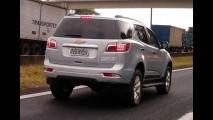 Flagra: Novo TrailBlazer rodando limpo em SP