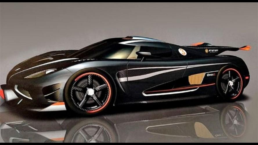Koenigsegg One de 1.400 cv será o mais veloz do mundo: máxima de 450 km/h!