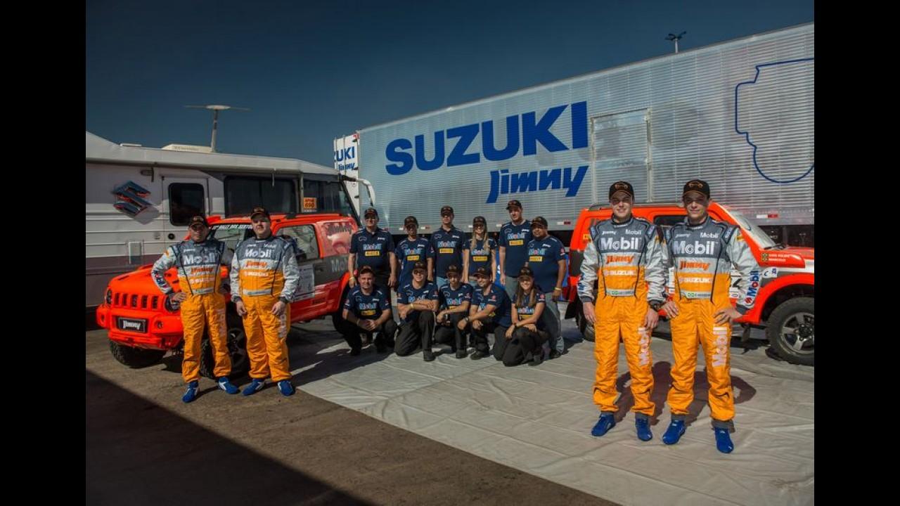 Suzuki Jimny estreia no Rally dos Sertões 2014 e completa prova
