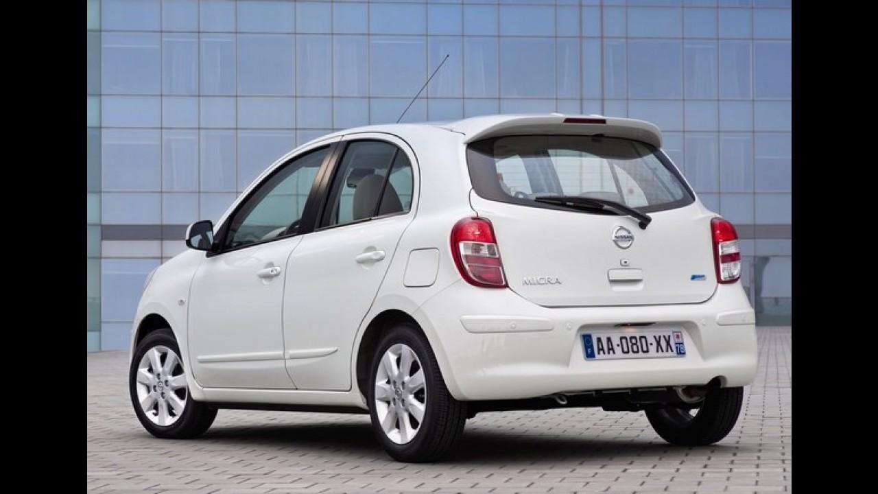 Nissan March será fabricado pela Renault na França