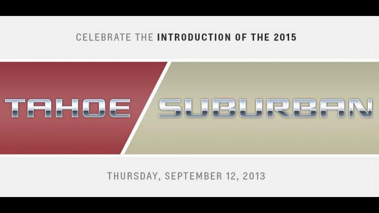 Chevrolet confirma novos Tahoe e Suburban para o próximo dia 12