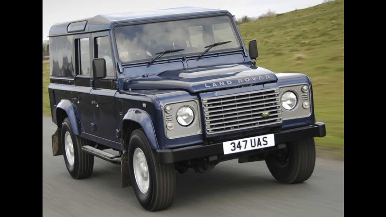 Land Rover pode apresentar Novo Defender em Fankfurt