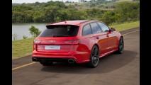 Volta (bem) rápida: de pé embaixo na Audi RS6, a perua mais nervosa do mundo