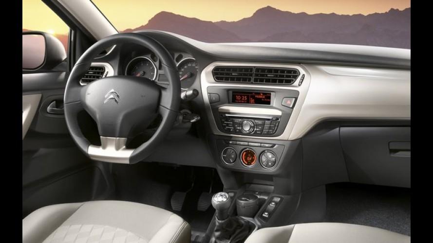 Citroën C-Elysée tem o interior revelado pela primeira vez