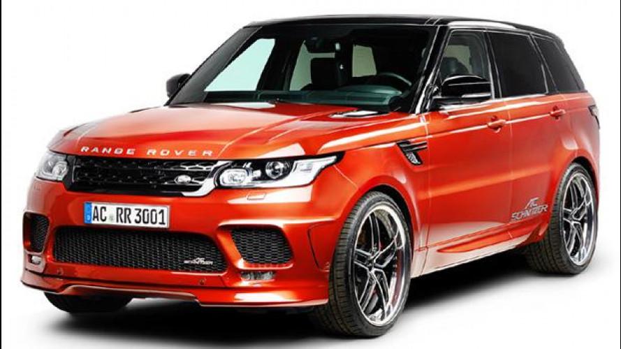 Land Rover Range Rover Sport V6 SD, più potente con AC Schnitzer