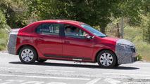 2017 Dacia Logan facelift spy photo