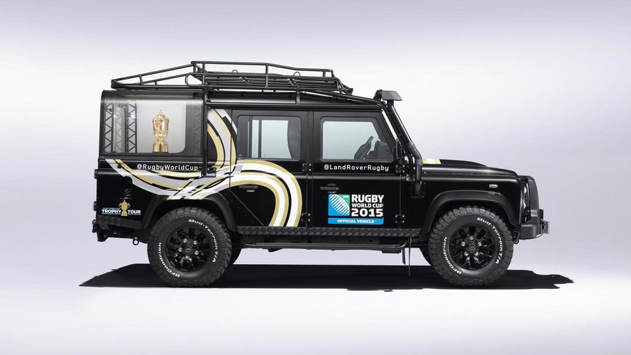 Land Rover reveals bespoke Rugby World Cup Defender [video]