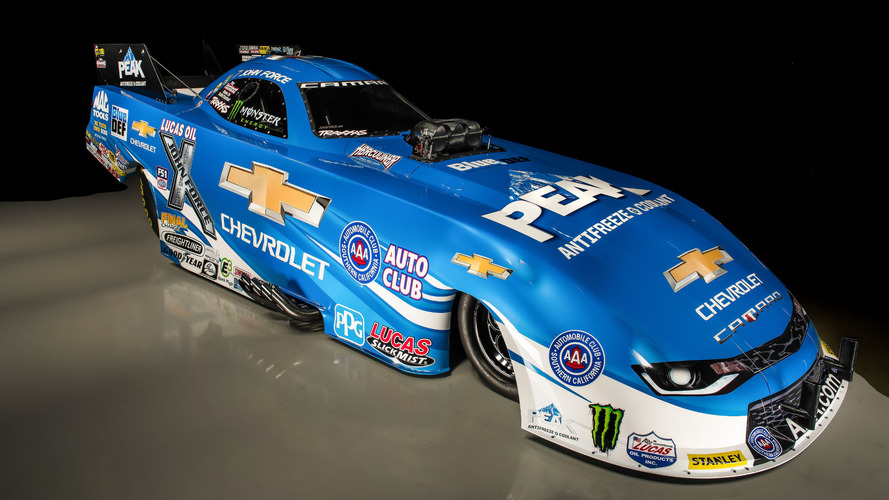 Force unveils new Chevrolet Camaro Funny Car