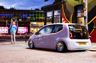 VW Up! Gets the Slammed Treatment