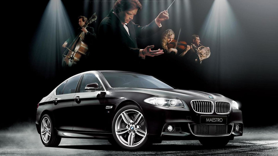 BMW 523d Maestro special edition celebrates classical music in Japan