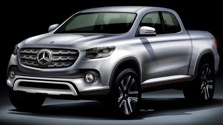 Mercedes pickup won't be a