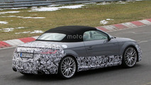 2017 Audi TT RS spy photo