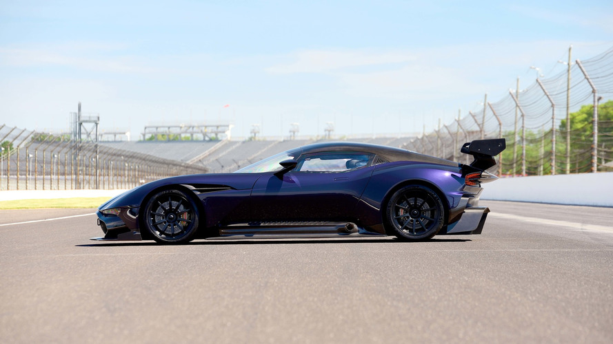 Purple Aston Martin Vulcan Up For Auction, Again