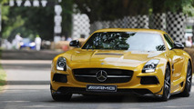 Mercedes SLS AMG Black Series at 2013 Goodwood Festival of Speed 12.7.2013
