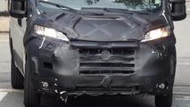 Fiat Ducato, Citroen Jumper, Peugeot Boxer and Ram ProMaster facelift spied