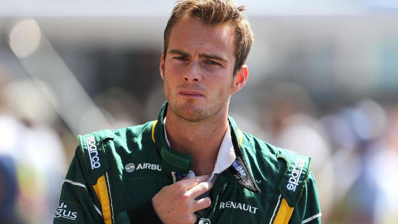 Giedo van der Garde 23.08.2013 Belgian Grand Prix