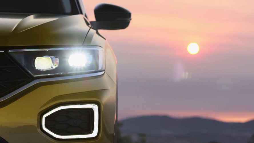 Volkswagen T-Roc Teased On Video Showing Sharp Styling