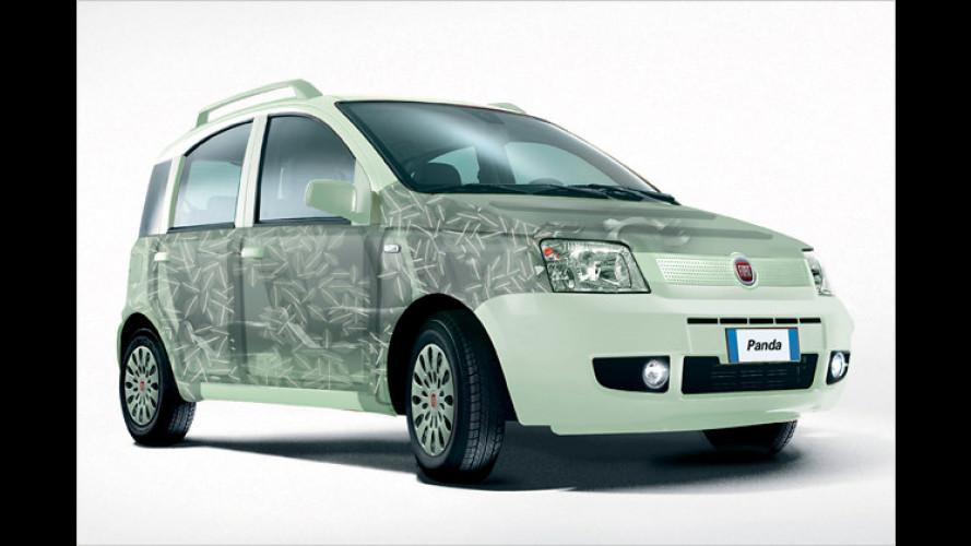 Rückkehr der Zweizylinder: Fiat Panda Aria schont Umwelt