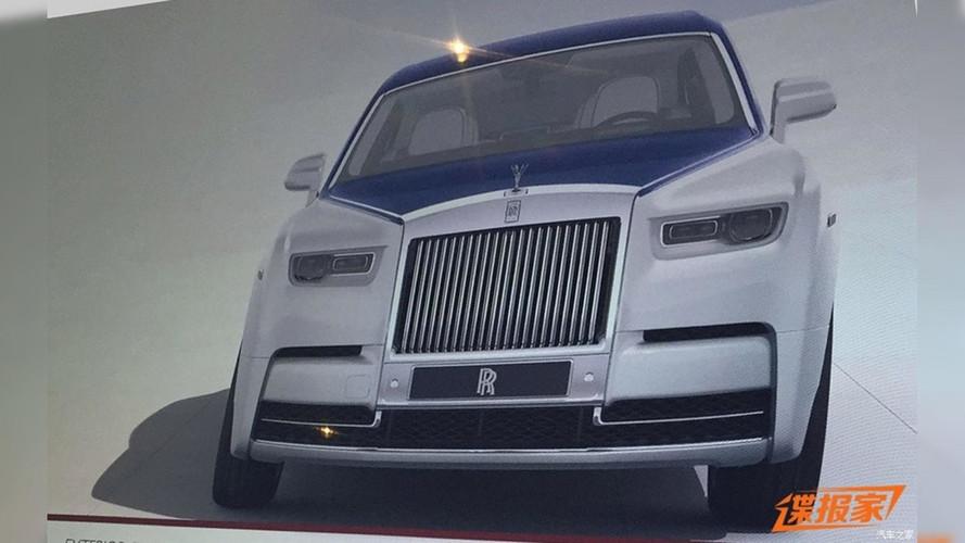 2018 Rolls-Royce Phantom sızdırıldı mı?