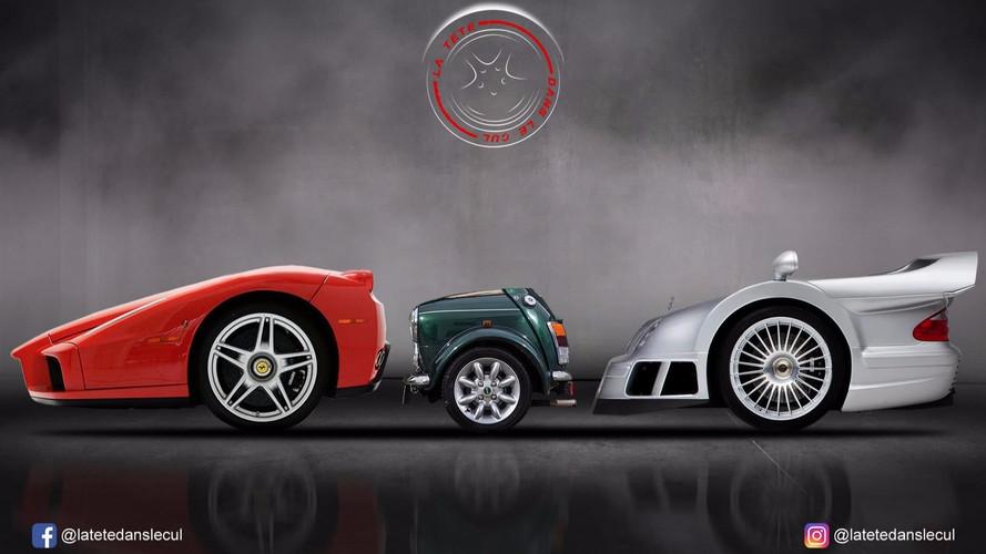 Insolite - Et si les voitures ne possédaient que deux roues ?