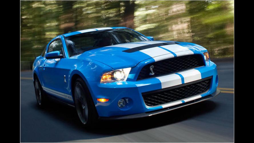Ford Shelby GT500: Mustang-Topmodell bringt nun 547 PS