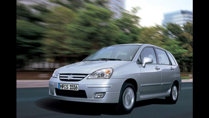 Suzuki Liana Diesel: Viel Biss und Mini-Verbrauch