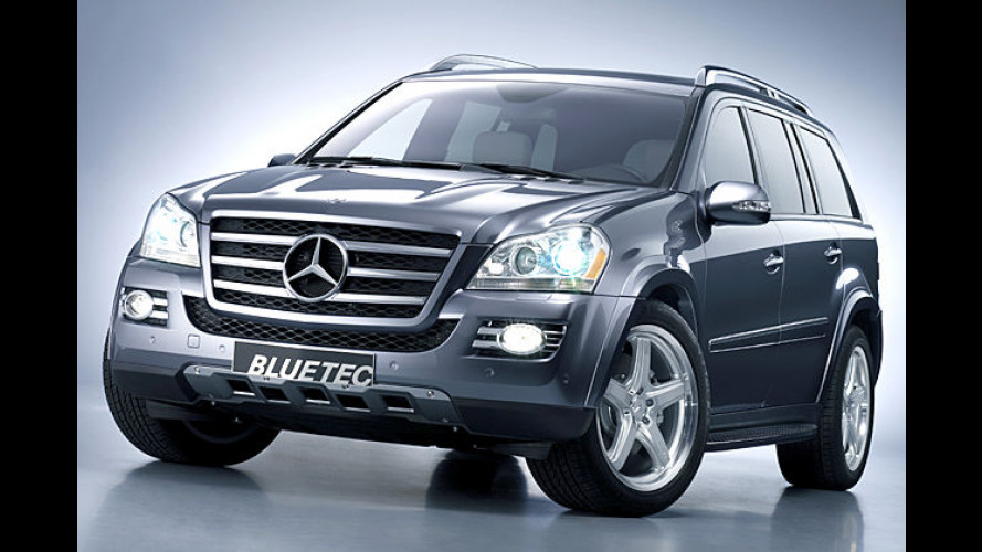 Mercedes zeigt in Detroit den GL 420 als Bluetec-Modell