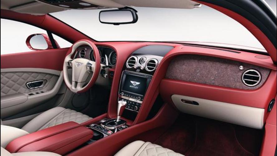 Da Bentley la plancia in pietra su Continental e Flying Spur