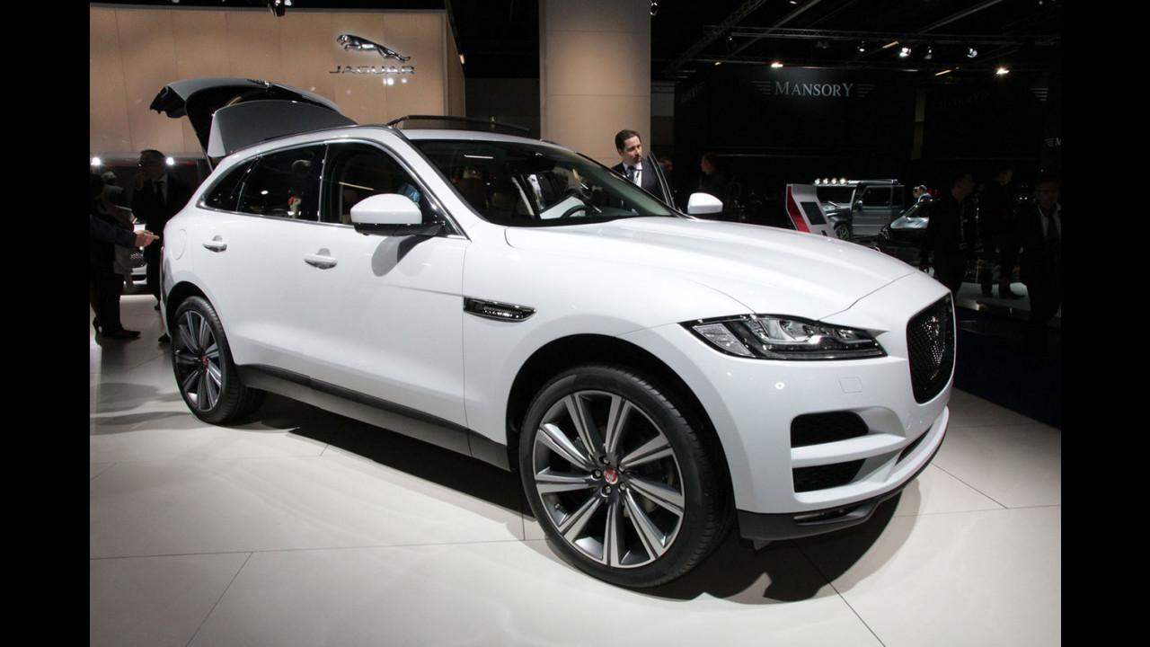 Jaguar al Salone di Francoforte 2015