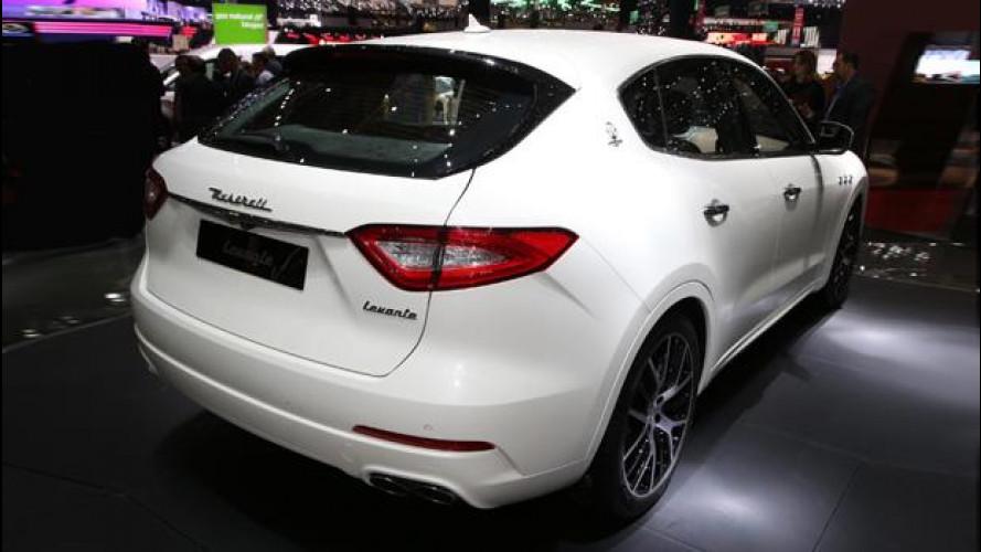 """Maserati Levante e le sospensioni """"ad aria"""""""