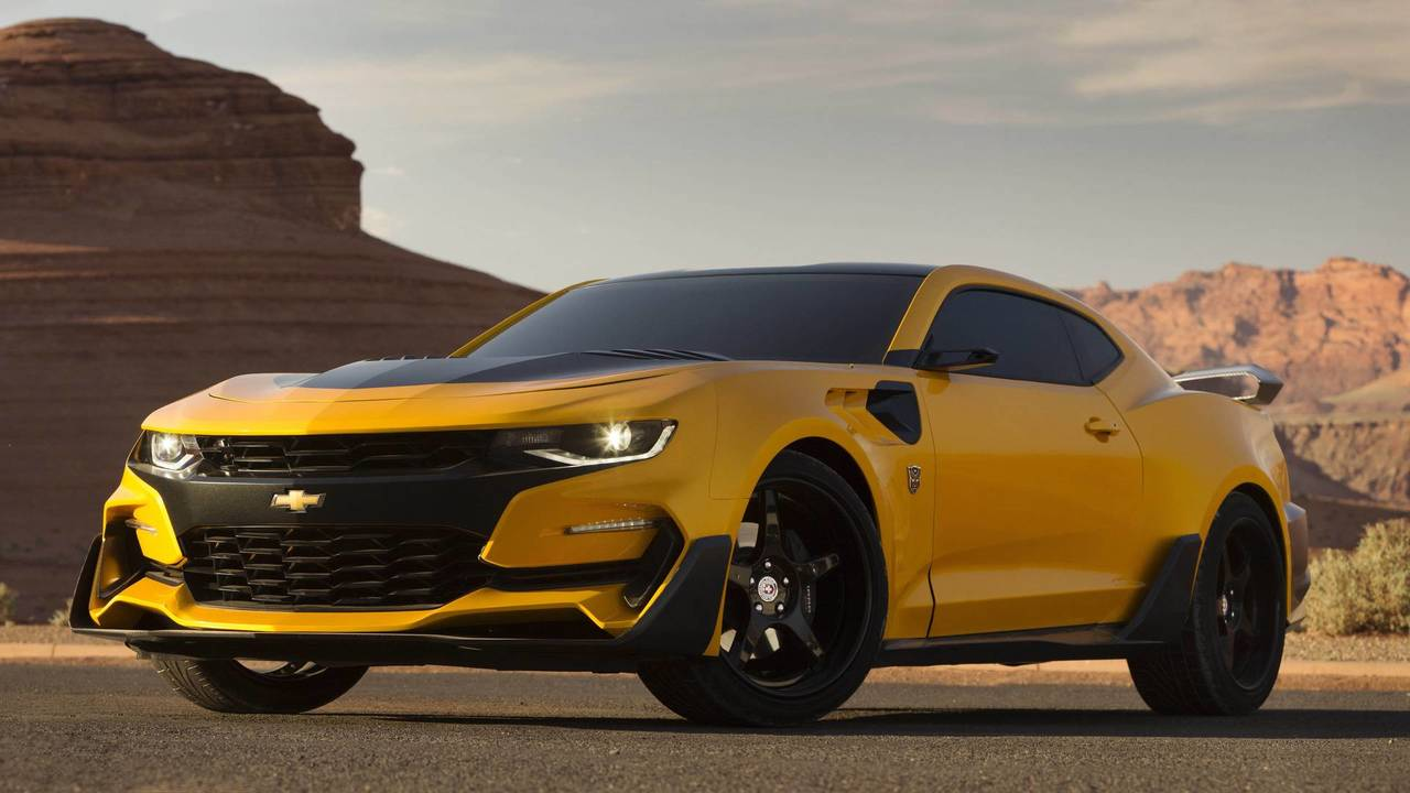 Chevrolet Camaro, Transformers