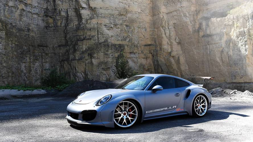 828 lóerővel debütál a Porsche 911 Turbo alapokra épített Gemballa GT Concept